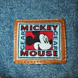 Disney Bags - HP🎉Mickey Mouse Unlimited Jean Backpack Embroide